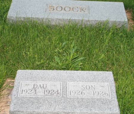 BOOCK, SON - Scott County, Iowa | SON BOOCK