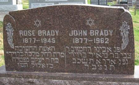 BRADY, JOHN - Scott County, Iowa | JOHN BRADY