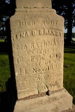 RATHMANN BRANDT, LENA D. - Scott County, Iowa | LENA D. RATHMANN BRANDT