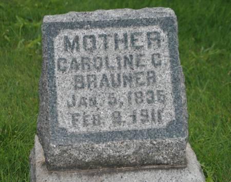 BRAUNER, CAROLINE - Scott County, Iowa | CAROLINE BRAUNER
