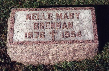 BRENNAN, NELLIE - Scott County, Iowa | NELLIE BRENNAN