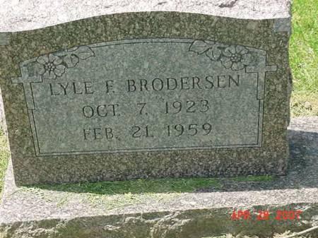 BRODERSEN, LYLE F - Scott County, Iowa | LYLE F BRODERSEN