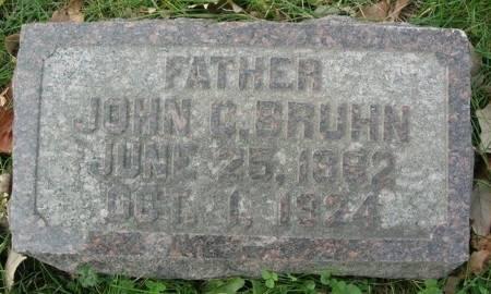 BRUHN, JOHN C. - Scott County, Iowa | JOHN C. BRUHN