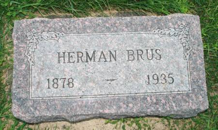 BRUS, HERMAN - Scott County, Iowa | HERMAN BRUS