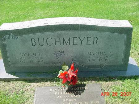 BUCHMEYER, MARTHA A - Scott County, Iowa | MARTHA A BUCHMEYER
