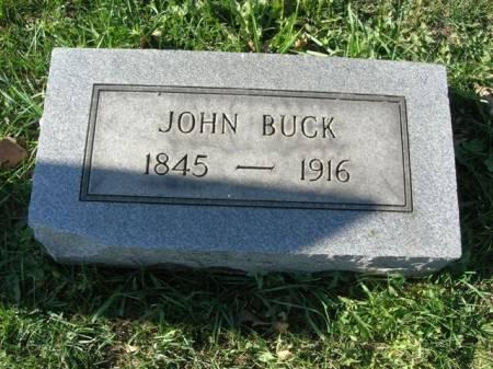 BUCK, JOHN - Scott County, Iowa | JOHN BUCK