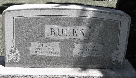 BUCKS, ELSIE K. - Scott County, Iowa | ELSIE K. BUCKS