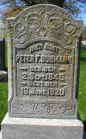 BUHMANN, PETER F. - Scott County, Iowa | PETER F. BUHMANN