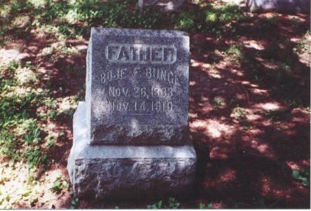 BUNGE, BOJE - Scott County, Iowa | BOJE BUNGE