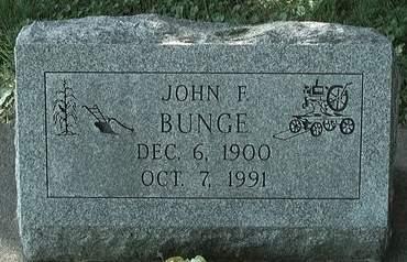 BUNGE, JOHN F. - Scott County, Iowa | JOHN F. BUNGE