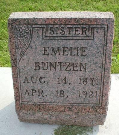 BUNTZEN, EMELIE - Scott County, Iowa   EMELIE BUNTZEN