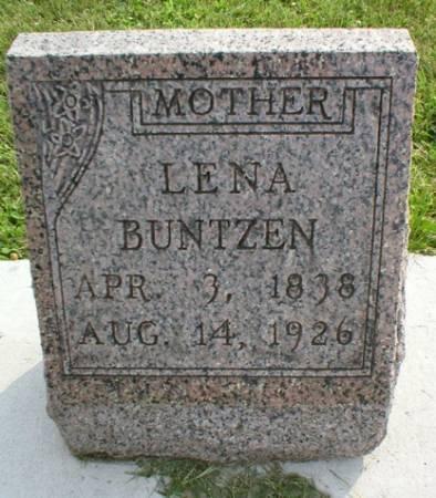 BUNTZEN, LENA - Scott County, Iowa | LENA BUNTZEN