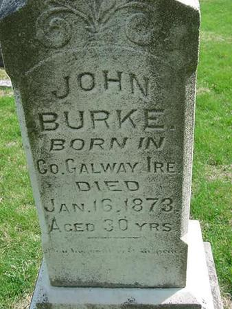 BURKE, JOHN - Scott County, Iowa | JOHN BURKE