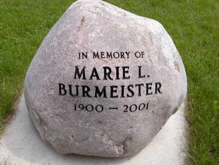 BURMEISTER, MARIE L. - Scott County, Iowa | MARIE L. BURMEISTER