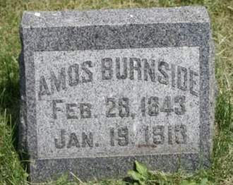 BURNSIDE, AMOS - Scott County, Iowa   AMOS BURNSIDE