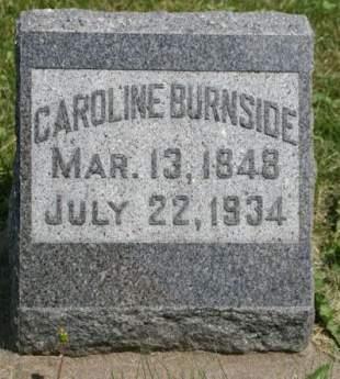 BURNSIDE, CAROLINE - Scott County, Iowa | CAROLINE BURNSIDE