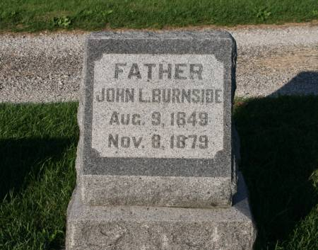 BURNSIDE, JOHN L. - Scott County, Iowa | JOHN L. BURNSIDE