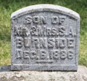 BURNSIDE, SON - Scott County, Iowa | SON BURNSIDE