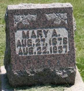 FIX BURNWOOD, MARY A. - Scott County, Iowa | MARY A. FIX BURNWOOD