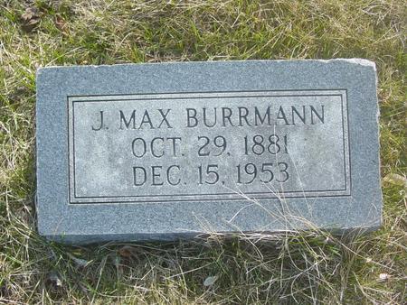 BURRMANN, J MAX - Scott County, Iowa | J MAX BURRMANN