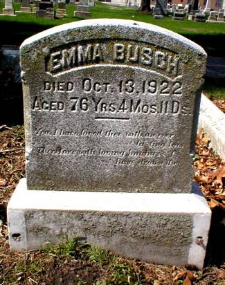 BUSCH, EMMA - Scott County, Iowa | EMMA BUSCH
