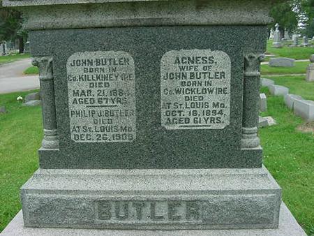 BUTLER, PHILIP J - Scott County, Iowa | PHILIP J BUTLER