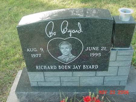 BYARD, RICHARD BOEN JAY