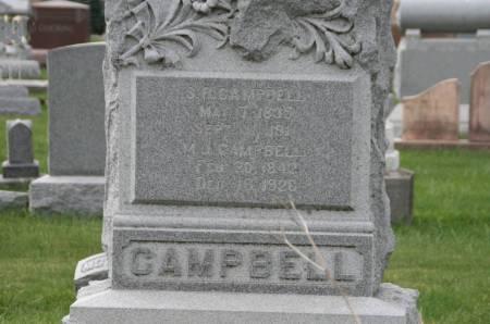 CAMPBELL, M.J. - Scott County, Iowa | M.J. CAMPBELL