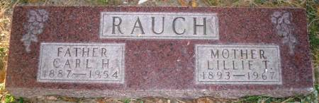 RAUCH, LILLIE T. - Scott County, Iowa | LILLIE T. RAUCH