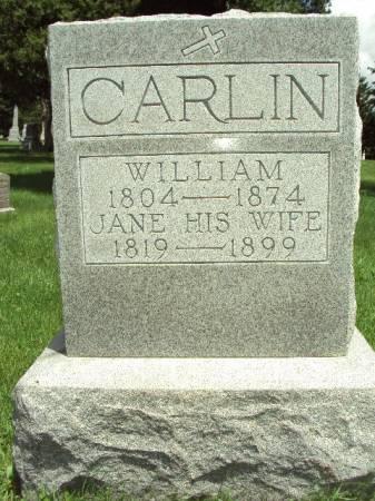 CARLIN, (JOHANNA) JANE - Scott County, Iowa | (JOHANNA) JANE CARLIN