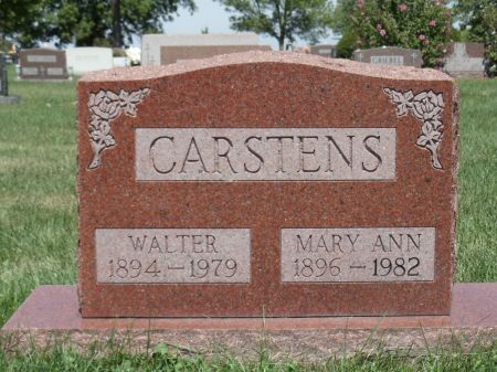 CARSTENS, MARY ANN - Scott County, Iowa | MARY ANN CARSTENS