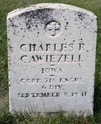 CAWIEZELL, CHARLES R. - Scott County, Iowa | CHARLES R. CAWIEZELL