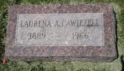 CAWIEZELL, LAURENA A. - Scott County, Iowa | LAURENA A. CAWIEZELL