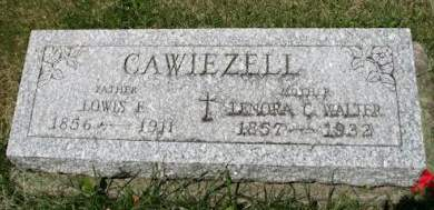 CAWIEZELL, LOWES F. - Scott County, Iowa | LOWES F. CAWIEZELL