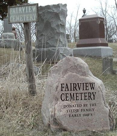 FAIRVIEW A.K.A. TIEDJE, CEMETERY - Scott County, Iowa | CEMETERY FAIRVIEW A.K.A. TIEDJE