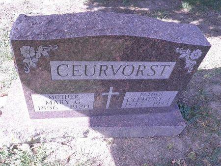 HERRMANN CEURVORST, MARY GEORGIA - Scott County, Iowa | MARY GEORGIA HERRMANN CEURVORST