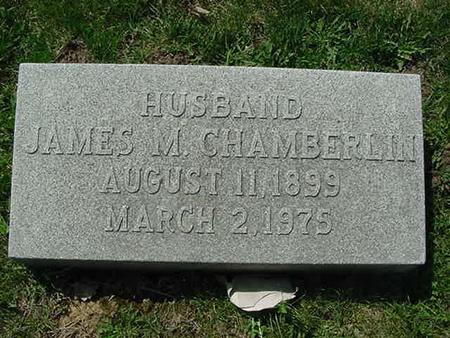CHAMBERLIN, JAMES M - Scott County, Iowa | JAMES M CHAMBERLIN