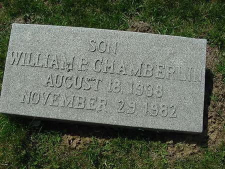 CHAMBERLIN, WILLIAM - Scott County, Iowa | WILLIAM CHAMBERLIN