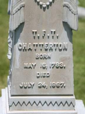 CHATTERTON, T. F. T. - Scott County, Iowa | T. F. T. CHATTERTON