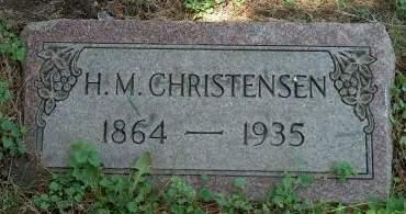 CHRISTENSEN, HANS MOGEN - Scott County, Iowa | HANS MOGEN CHRISTENSEN