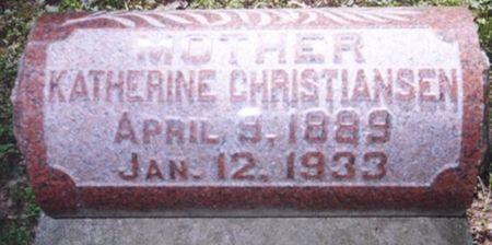 CHRISTIANSEN, KATHERINE - Scott County, Iowa | KATHERINE CHRISTIANSEN