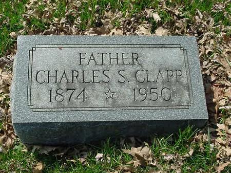 CLAPP, CHARLES SPENCER - Scott County, Iowa | CHARLES SPENCER CLAPP