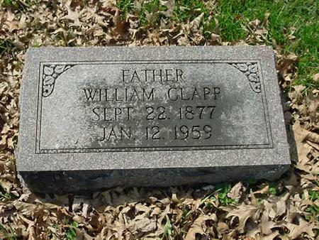 CLAPP, WILLIAM - Scott County, Iowa | WILLIAM CLAPP
