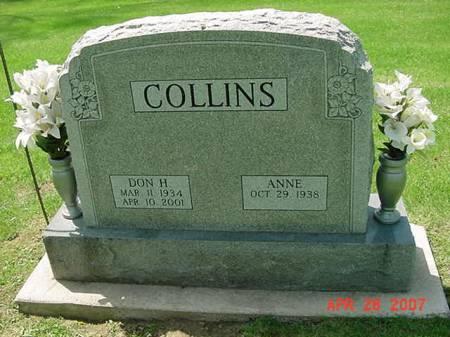 COLLINS, DON H - Scott County, Iowa | DON H COLLINS