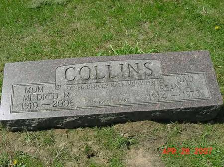 COLLINS, MILDRED M - Scott County, Iowa | MILDRED M COLLINS