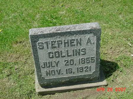 COLLINS, STEPHEN A - Scott County, Iowa | STEPHEN A COLLINS