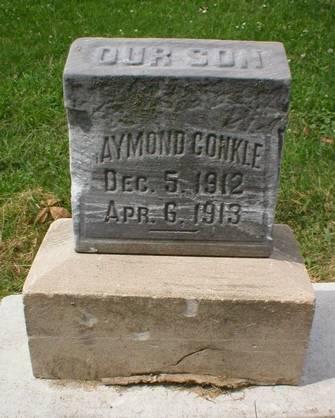 CONKLE, RAYMOND - Scott County, Iowa   RAYMOND CONKLE
