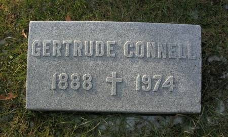 CONNELL, GERTRUDE - Scott County, Iowa | GERTRUDE CONNELL