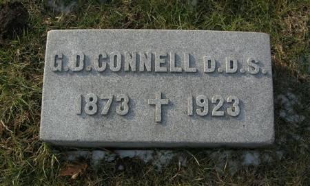 CONNELL, G. D. - Scott County, Iowa   G. D. CONNELL