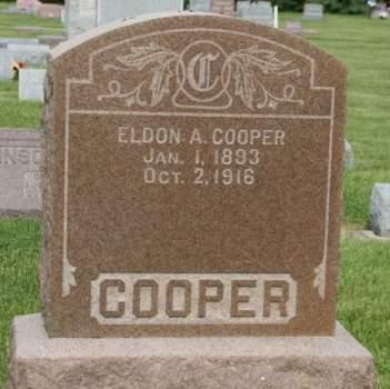COOPER, ELDON A. - Scott County, Iowa | ELDON A. COOPER